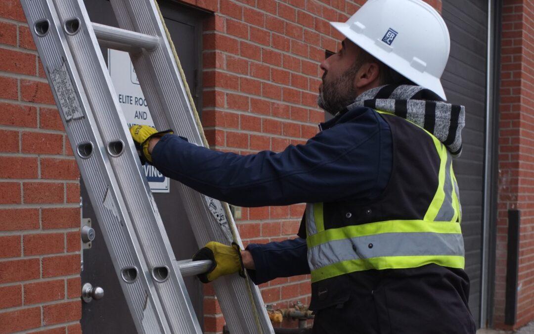 Roofing 101: 6 Ladder Safety Protocols Your Roofer Should Always Enforce