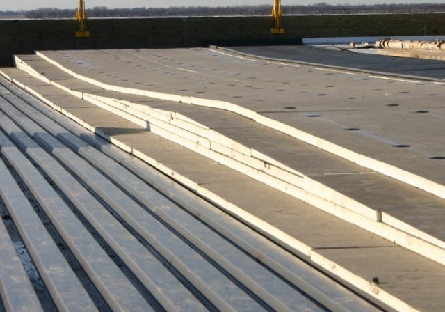 Creating A Strong Foundation: Why We Use Tapered Insulation