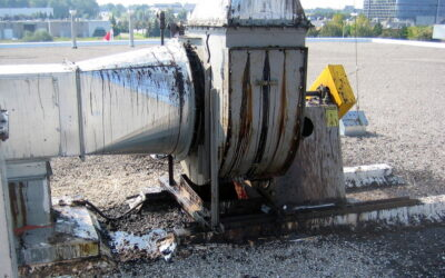 Grease And Oil Spills Degrade Roofing Membranes: What You Can Do  To Prevent Future Damages